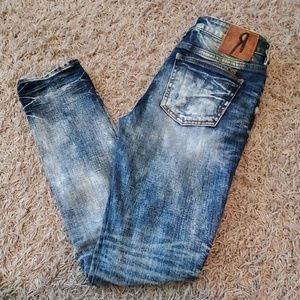 Remix by Rock Revival skinny straight Jean